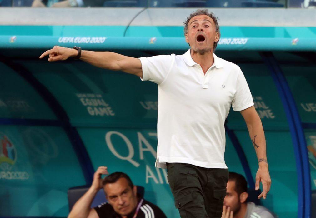 Euro2020: Luis Enrique diz que a primeira batalha a vencer com Itália é pela posse de bola