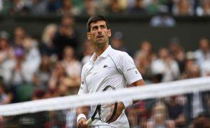 Wimbledon: Djokovic e Federer confirmam e Zeverev fica pelo caminho