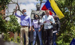 Venezuela: Manifestantes apoiam Guaidó e ao Acordo de Salvação Nacional