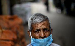 Covid-19: Índia com 34.703 casos, valor mais baixo em mais de 100 dias