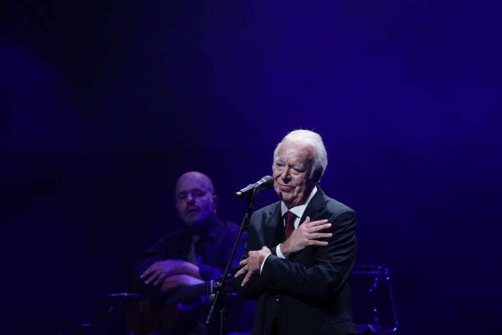 Carlos do Carmo homenageado com concerto em 21 de dezembro na Altice Arena em Lisboa