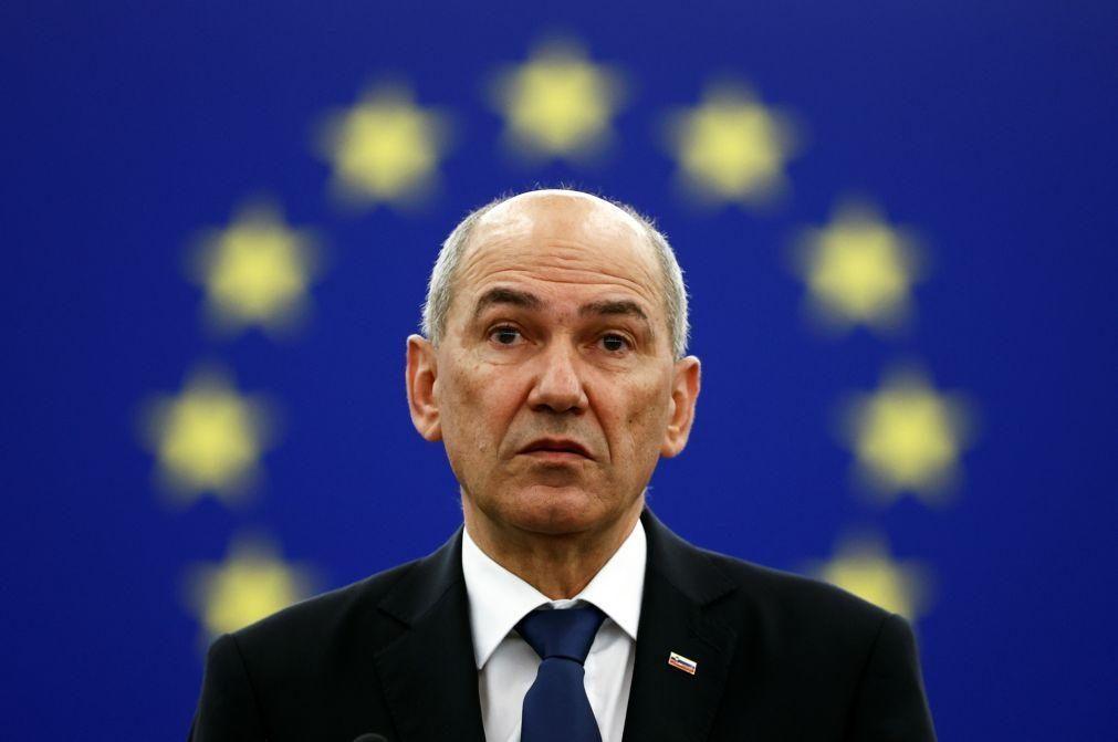 Eslovénia quer Europa a pensar a