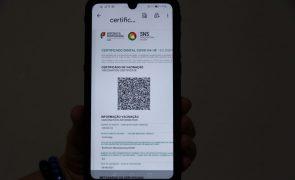 Covid-19: Aplicação para leitura do certificado digital já disponível para telemóveis