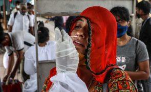 Covid-19: Índia com 43.733 casos e 930 mortes nas últimas 24 horas