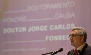 PR de Cabo Verde vai receber no Brasil quinto título 'Honoris Causa'