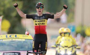 Tour: Van Aert vence 11.ª etapa em solitário e Pogacar consolida amarela