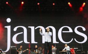 James regressam a Portugal a 12 e 13 de dezembro com novo álbum