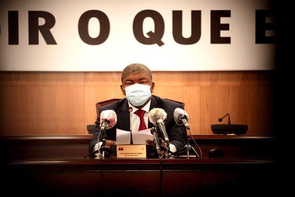 Presidente angolano cria comissão para alterar divisão político-administrativa do país