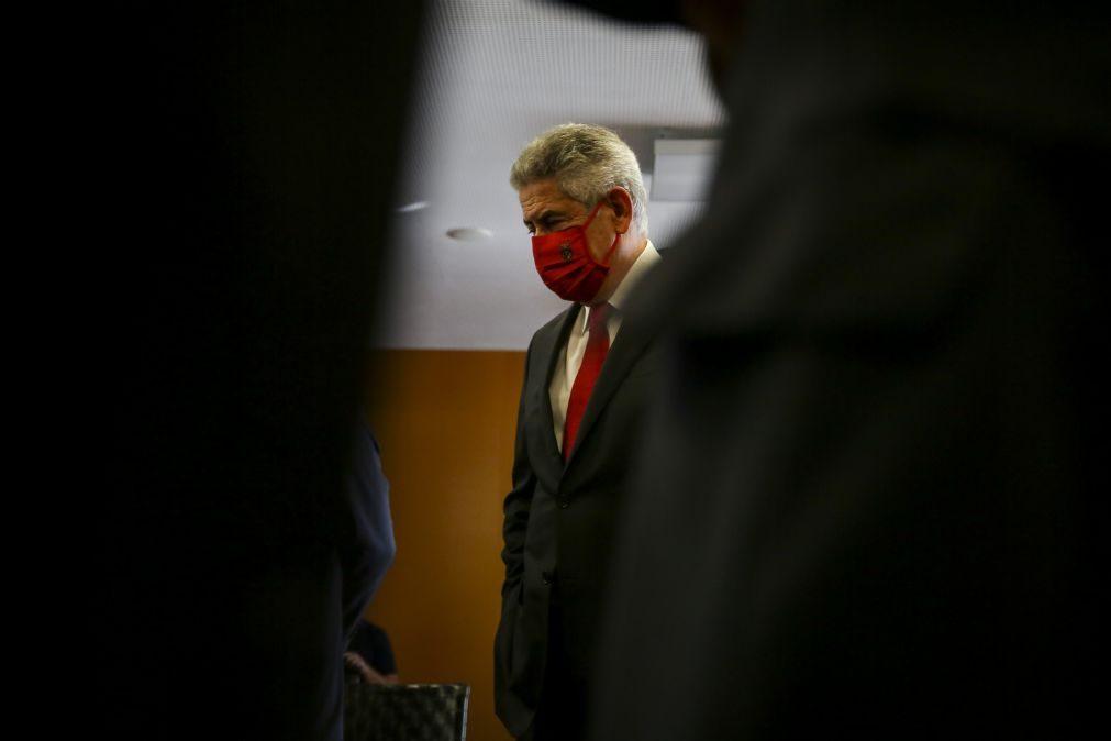 Luís Filipe Vieira deixa prisão domiciliária