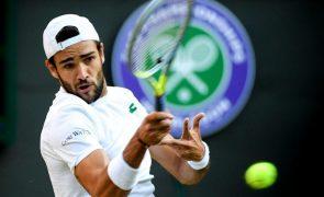 Wimbledon: Berrettini vence Auger-Aliassime e está pela primeira vez nas 'meias'