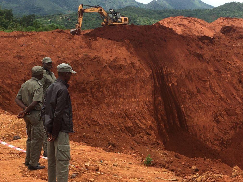 Três garimpeiros ilegais morrem em desabamento de minas no norte de Moçambique