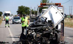 Menos acidentes e mortos nas estradas nos primeiros quatro meses do ano face a 2020