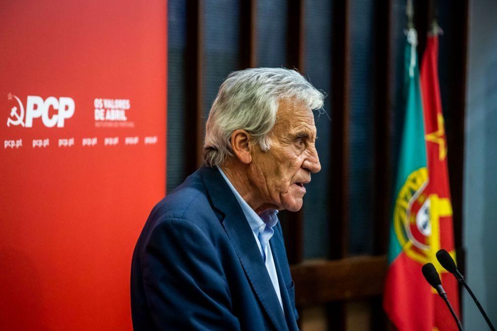 PCP diz que Portugal deve decidir se quer