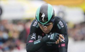 Peter Sagan desiste do Tour com lesão no joelho direito