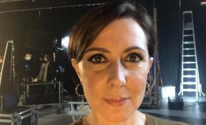 Maria João Abreu gravou em segredo com José Raposo programa para a RTP