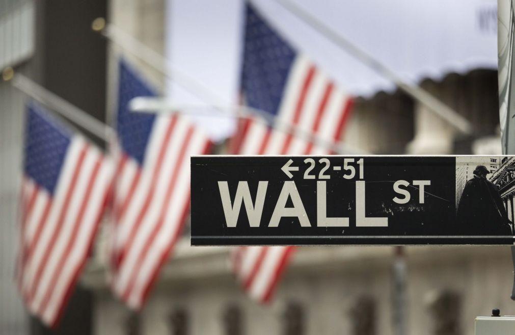 Wall Street seguia em baixa no início da sessão em linha com bolsas europeias