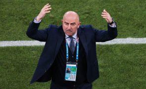 Euro2020: Rússia despede selecionador Stanislav Cherchesov