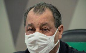 Covid-19: Senador advertido por Forças Armadas do Brasil após citar corrupção de militares na Saúde