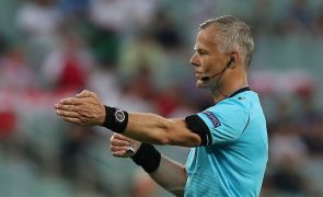 Euro2020: Holandês Björn Kuipers dirige final entre Itália e Inglaterra