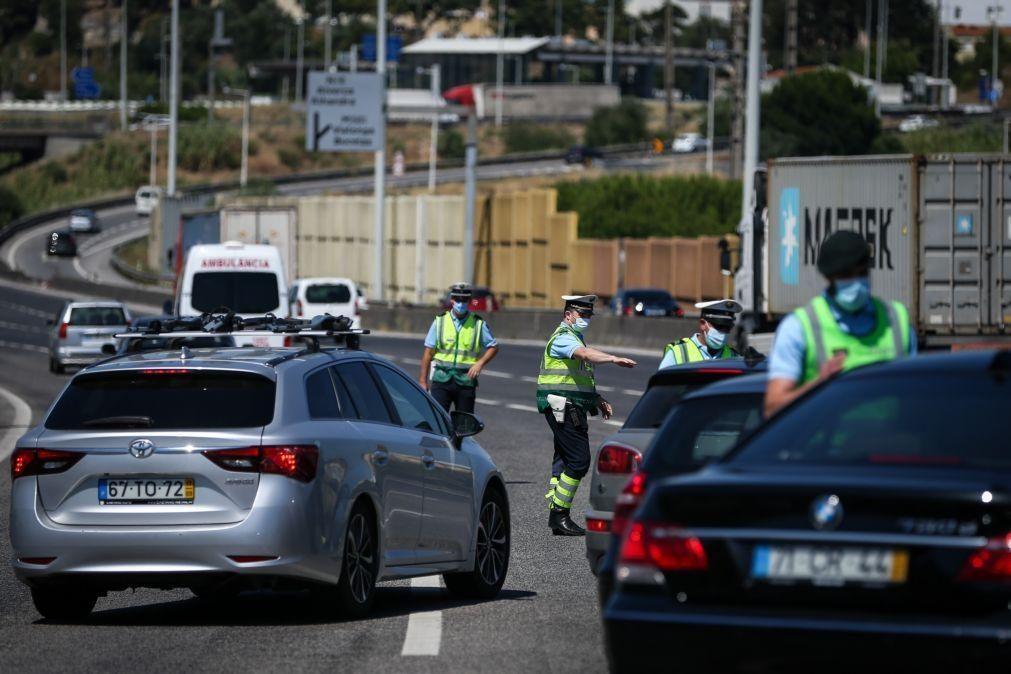 Covid-19: Proibição de entrar e sair na Área Metropolitana de Lisboa terminou