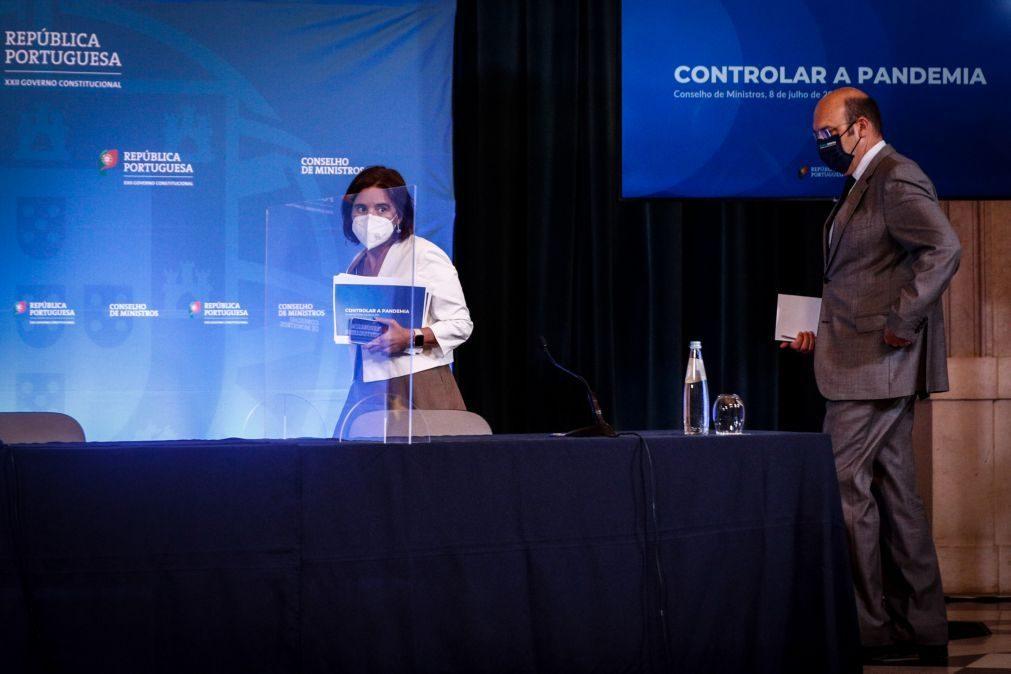 Covid-19: Governo diz que confinamento é decisão da autoridade de saúde