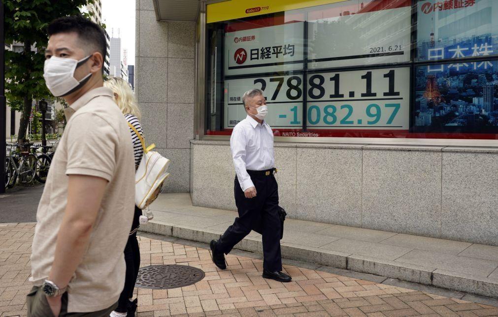 Bolsa de Tóquio abre a perder 1,13%