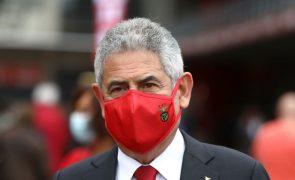 Luís Filipe Vieira suspende funções como presidente do Benfica