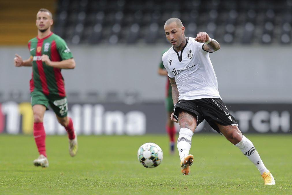 Quaresma diz que Vitória de Guimarães tem de alcançar competições europeias