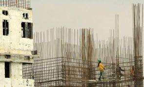 Aumento da produção na construção acelera para 8,1% em maio