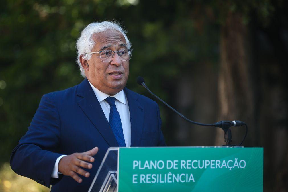 PRR: Costa diz que mercado sozinho não resolve habitação e que fixar jovens