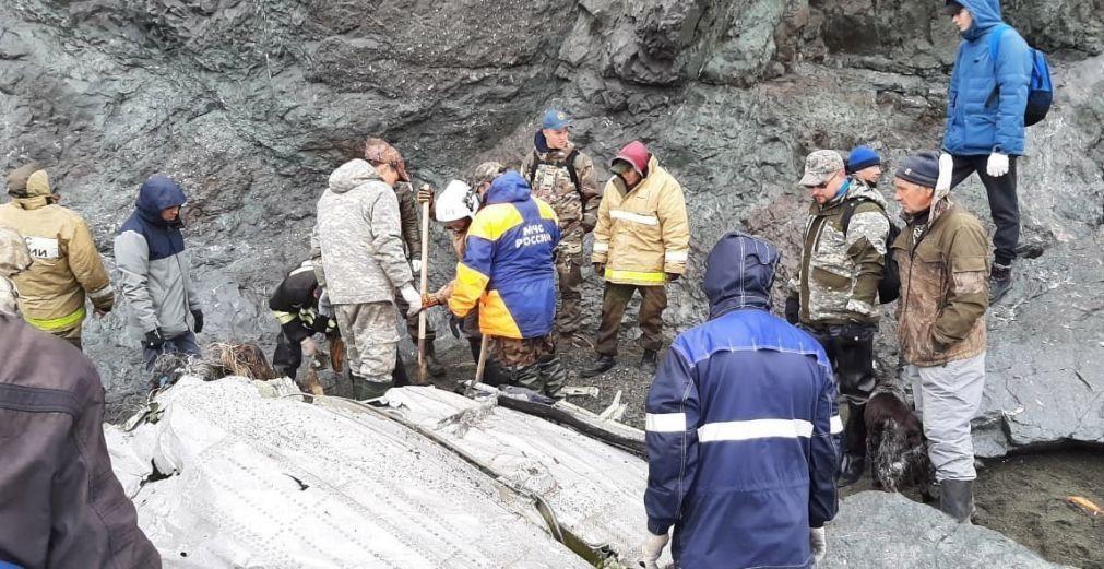 Recuperados todos os corpos das vítimas em acidente aéreo na Rússia
