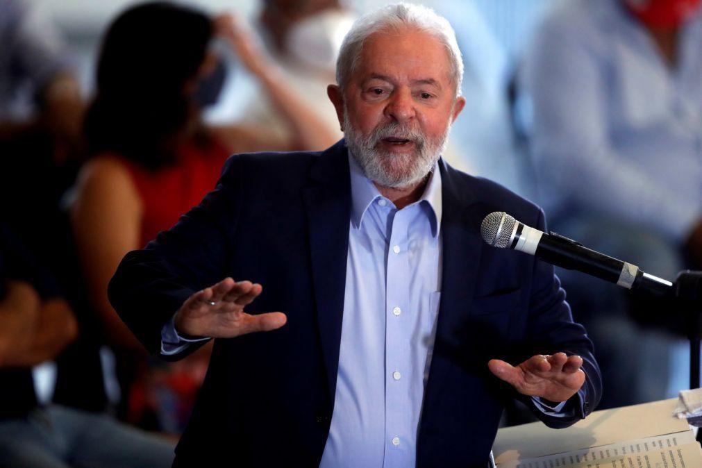 Lula da Silva com vantagem de 21% sobre Bolsonaro nas eleições de 2022