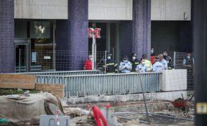 Responsabilidade no desabamento no Metro em Lisboa atribuída à CML e outras entidades