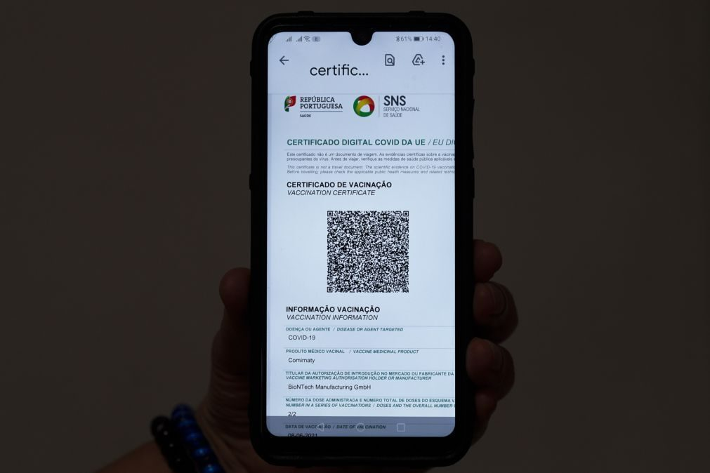 Covid-19: Centro Hospitalar Gaia/Espinho limita visitas a portadores de certificado digital