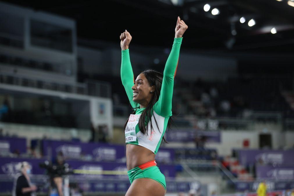 Patrícia Mamona melhora recorde nacional do triplo salto