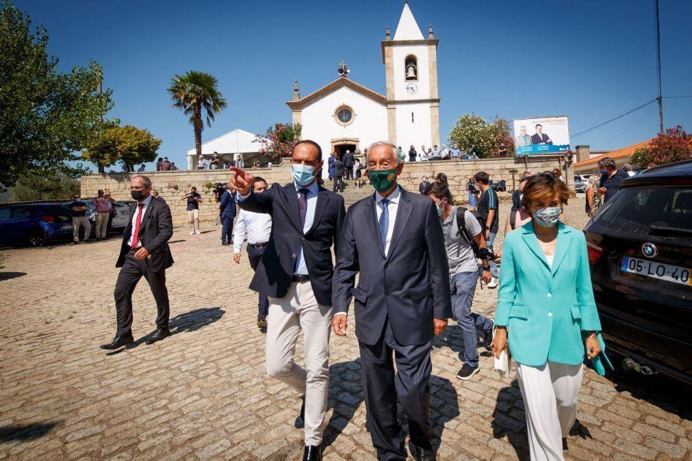 Covid-19: Marcelo considera medidas do Governo