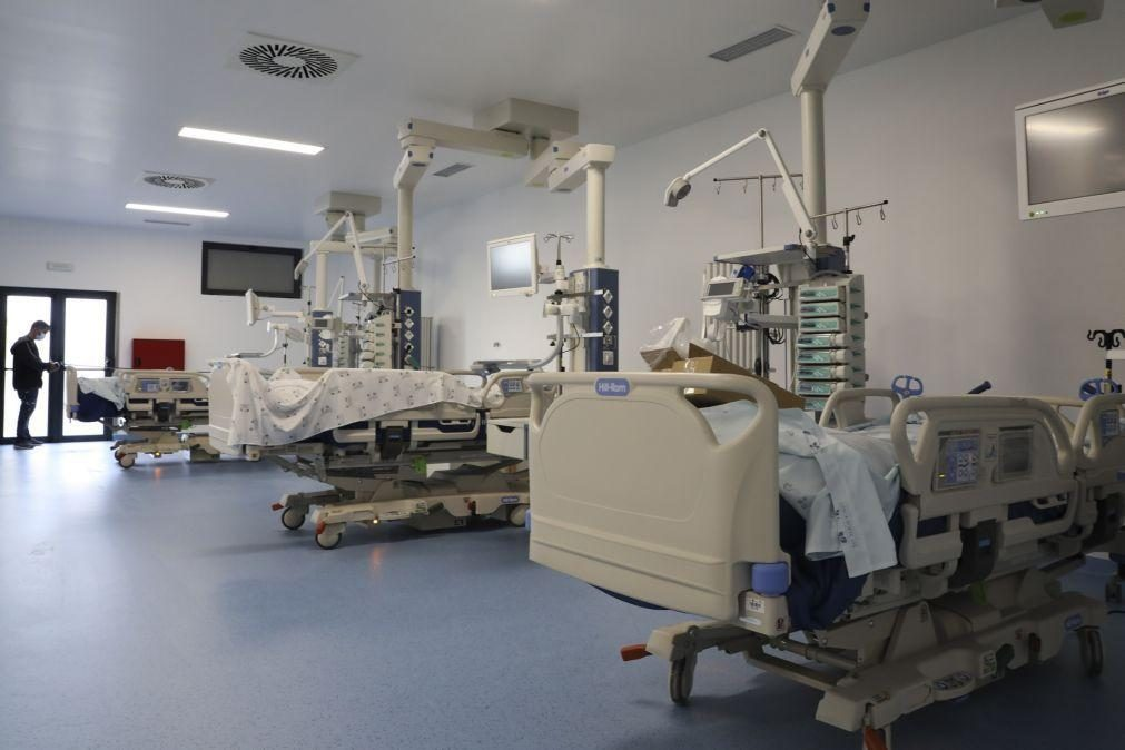 Lisboa e Vale do Tejo tem 99% de camas de cuidados intensivos ocupadas