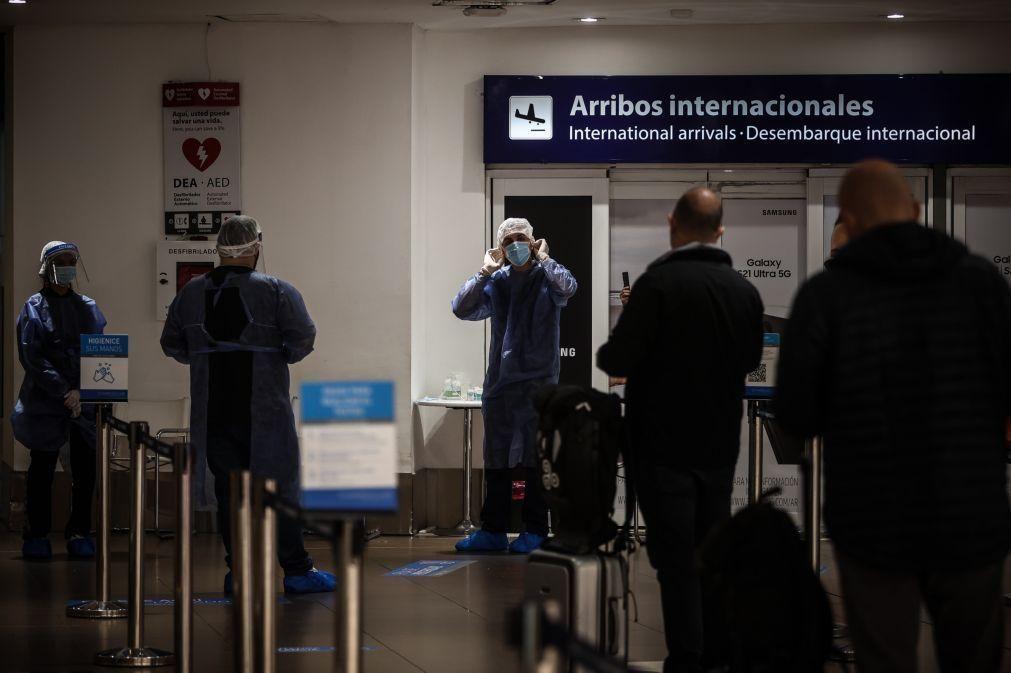 Covid-19: Argentina prolonga restrições para regresso de cidadãos e companhias aéreas avaliam operações no país