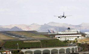 Vento está a condicionar movimento no Aeroporto da Madeira