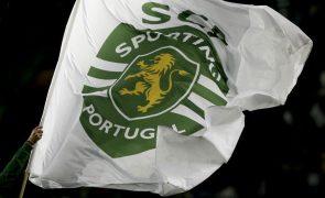 Covid-19: Equipa de futebol do Sporting já foi vacinada