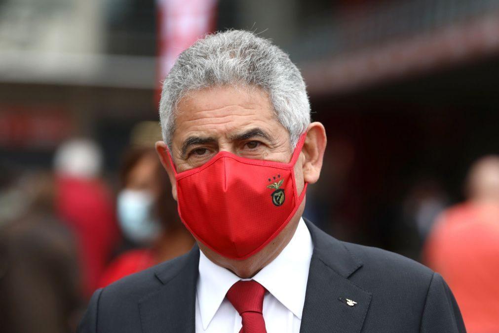Cartão vermelho: Luís Filipe Vieira em prisão domiciliária até ao pagamento de caução