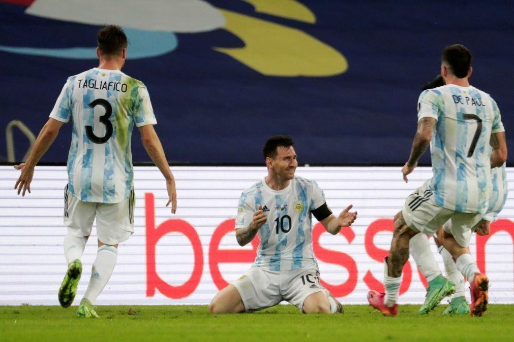 Copa América: Argentina bate Brasil e soma 15.º título e primeiro desde 1993