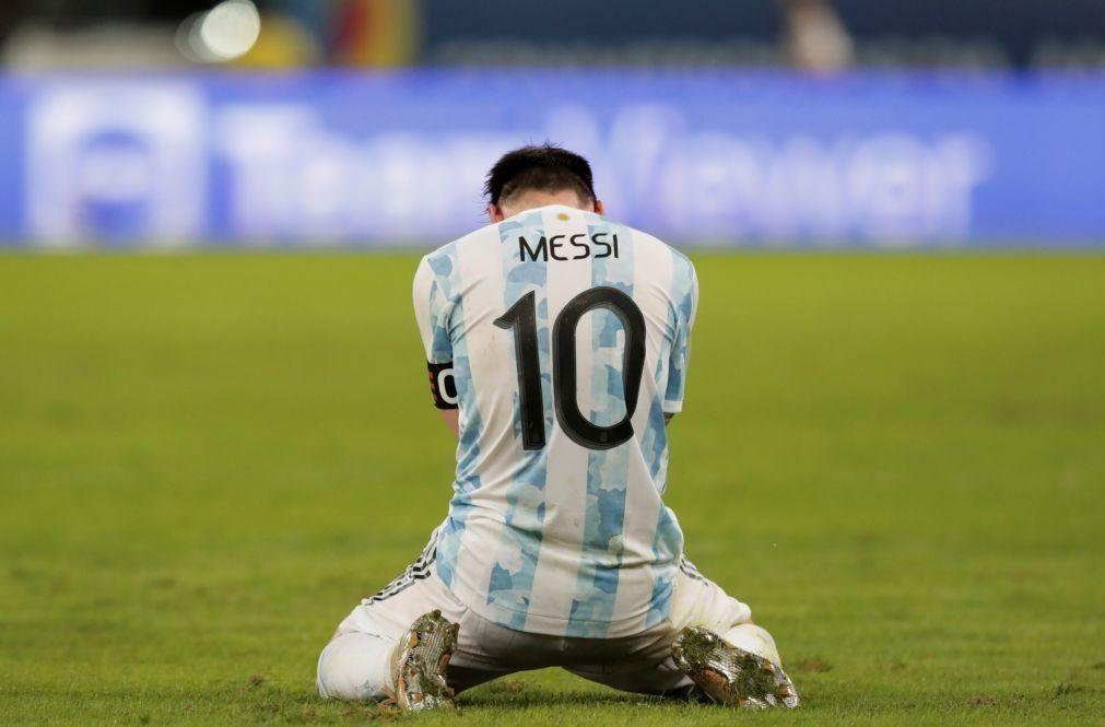 Argentina de Messi vence Copa América com golo de Di María