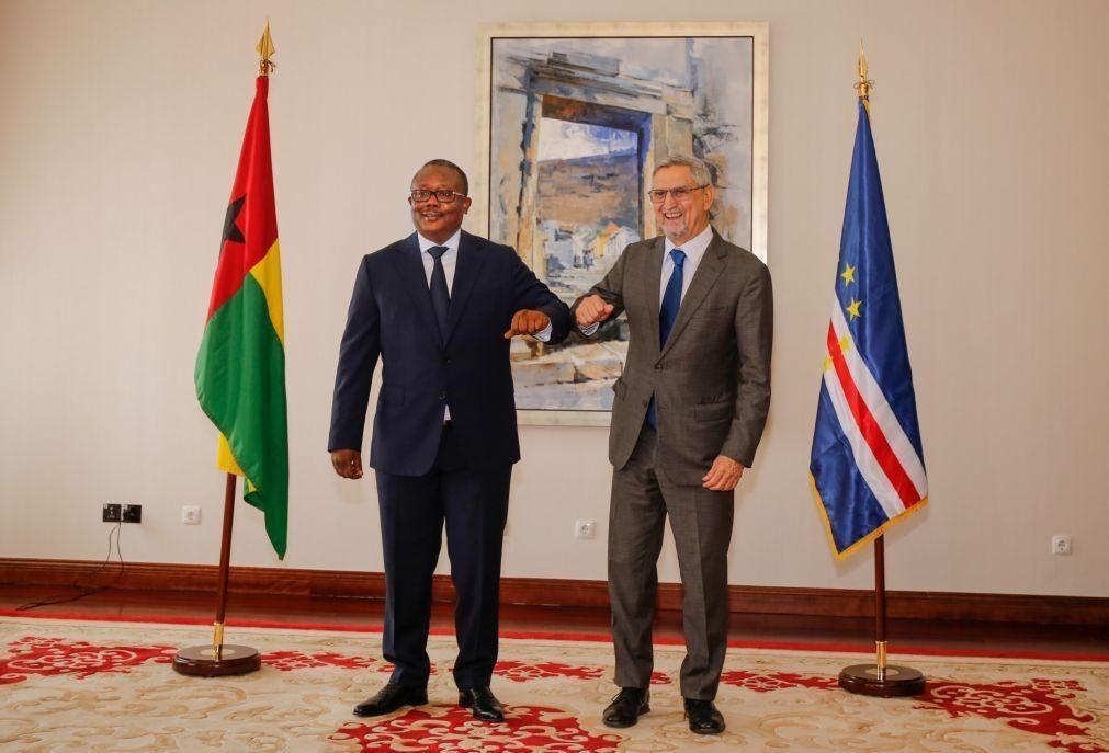 PR da Guiné-Bissau recebe a mais alta distinção de Cabo Verde