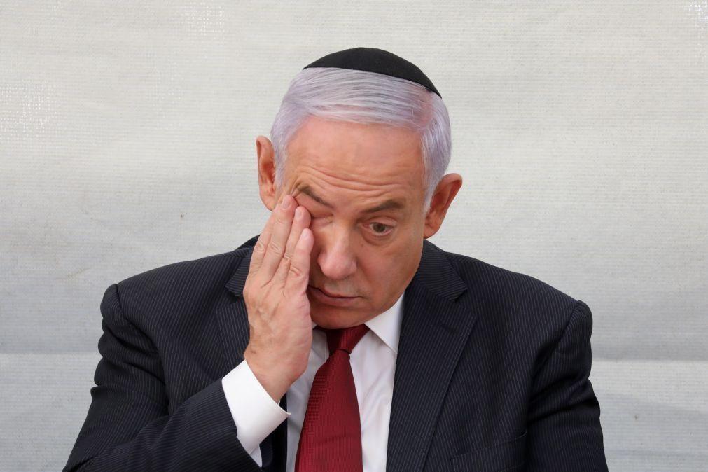 Netanyahu deixa residência oficial um mês depois de ter sido afastado do poder