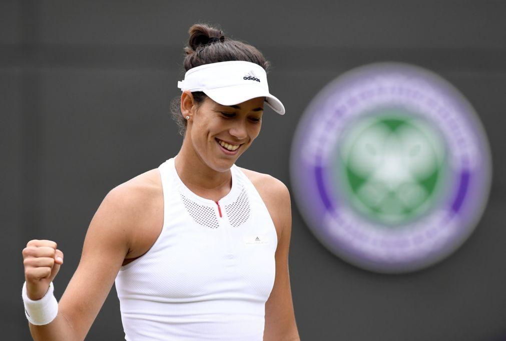 Wimbledon: Muguruza de regresso às meias-finais