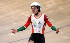 Ciclista Iuri Leitão conquista 'prata' na Taça das Nações de pista