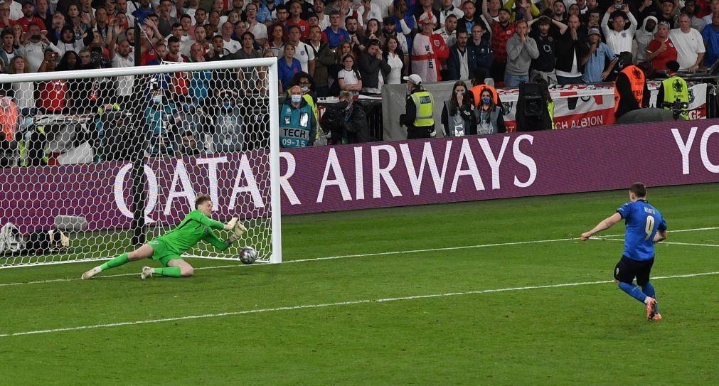 Euro2020: Itália bate Inglaterra nos penáltis e é campeã 53 anos depois [vídeo]