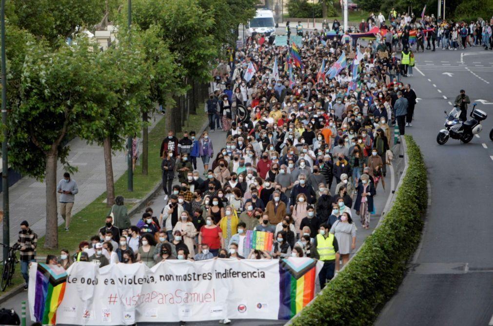 Novos protestos em Espanha após assassinato de jovem homossexual
