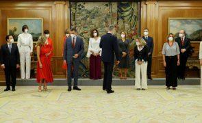 Novos ministros de Governo espanhol remodelado já tomaram posse